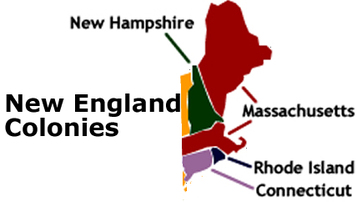 new england colonies research paper Throughout the period from 1630 to 1660s, the puritans influenced and made big impacts on the new england colonies these ideas and values that the.